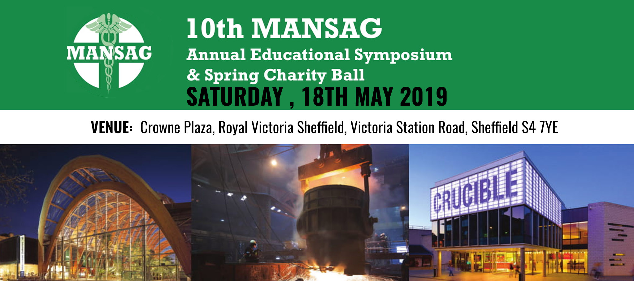 10TH MANSAG ANNUAL EDUCATIONAL SYMPOSIUM & SPRING CHARITY BALL 2019 – SHEFFIELD