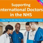 Supporting  International Doctors  in the NHS – Friday 27th March 2020, London