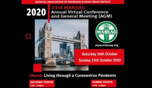 23rd Mansag Annual Virtual Conference and General Meeting (AGM) 2020