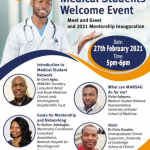 MANSAG Medical Student Welcome Event